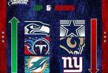 NFL Up & Down / Quais são as equipas que sobem e descem no nosso Up & Down semanal?