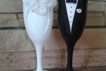 bicchieri matrimonio