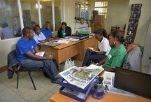 Juhudi Kilimo / Juhudi Kilimo est une IMF dont la mission est d'améliorer la qualité de vie des agriculteurs et des petites entreprises rurales Kenyanes en leur proposant des solutions financières créatrices de richesse dans le domaine agroalimentaire. L'institution finance des actifs agricoles spécifiques qui offrent un revenu immédiat et pérenne. Afin de promouvoir également l'innovation, Juhudi Kilimo propose aussi des capitaux de démarrage pour les nouvelles activités agroalimentaires. ©Didier GENTILHOMME