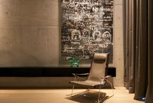 Interior Spaces / Living with Art / All about interior spaces - art, lighting, design and the subtle touches.