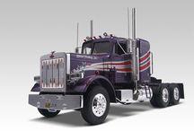 Truckin' / Truck plastic model kits from Revell