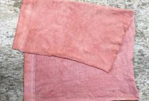 Natural dyeing, plant dyes, eco-dyeing