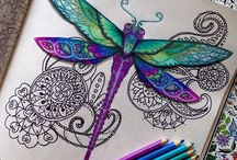 Johanna Basford coloring pages