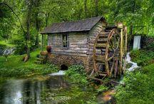 Old Grist Mills