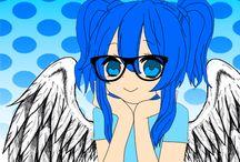Euzinha / A sua não-anjo da guarda Hime Naomi.