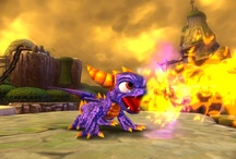 skylanders / small dolls.....move they to the portal of powerand watch them come into your game!
