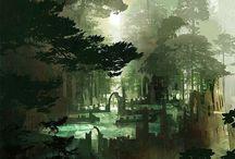 Elf Castle Concept