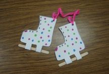 Winter clothes craft / This page has a lot of Winter clothes craft for preschool kids,parents and preschool teachers.