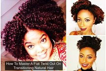 Transitioning Hair / Learn how to care for your transitioning hair here where all beginners need to start!