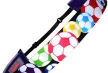 Soccer Headbands / Adjustable Non Slip Soccer Headbands.