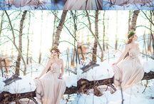 Winter Wedding Inspiration / Winter wedding ideas. Whimsy, white, wonderful.