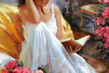 Pino Daeni / an Italian-American book illustrator and artist (1939 – 2010)