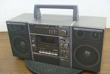 Audio : Retro Boombox