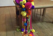 Colour Pop Wedding Ideas / Bright and bold wedding colours