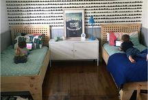 Habitaciones compartidas - shared bedrooms