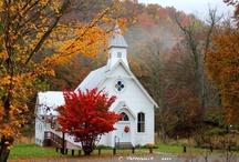 churches / by Rose Burris