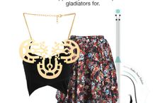 styling your dresses / by Manvi Malhotra