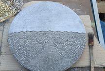 Decorazioni cemento