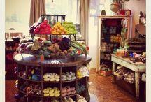 Yarn shop inspiration