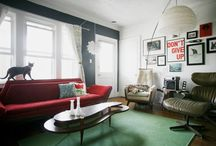 Decor - Family room / by Marjolaine Bourget