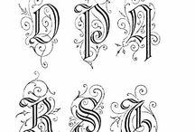 Alphabeth Lettering