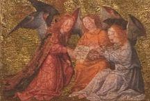 icons / byzantine icons, art, wood, religious