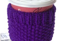 Coffee Cozy Knitting Patterns Free