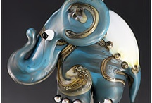 Amazing lampwork beads by glass artists