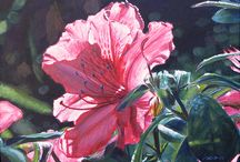 Floral Art / fine art paintings of flowers by various artists