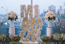 "Spanish Flair Marriage Proposal / This proposal involved a 6 foot floral sculpture with her nickname ""Mi Amor"", a Penthouse overlooking NYC, and a Spanish band.  Proposal Planning: The Heart Bandits Photo: Kamila Harris Photography  / by The Heart Bandits"