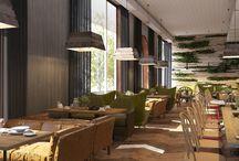 BON APP. / Restaurant design project.