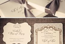 Stationary / Wedding stationary Cards