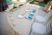 Weddings / A beautiful beach wedding with nautical theme
