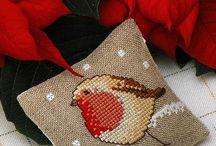 Cross stitch-Birds / Patterns for birds in cross stitch