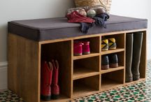 shoe organizer / Cleverly organize your shoes!