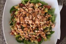 Salads and healty sfuff
