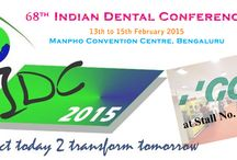 #IDC2015 / Indian Dental Conference, 2015 being hosted by Indian Dental Association, Karnataka State Branch in the beautiful city of Bengaluru. GC India is showcasing the New age Technology products at Stall No. 154-155.