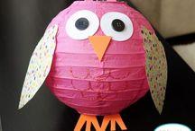 Party Owl Theme