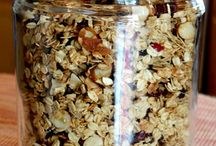 Healthy food ideas / Granola