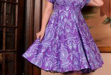 Plus Size Fashion / Plus size fashion - retro dresses, pinup dresses, tutus, and skirts