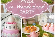 party ideas. / by Misti Wright