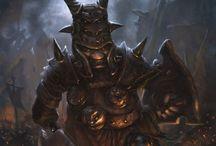 Abyssal Dwarves, Duegar, Demonkin etc.
