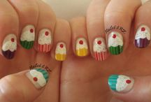 Beautiful Nails / If I had time I might do this to my nails...or my daughters.  But I don't :) / by Permission Pads