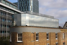 Highly Reflective/Mirrored Glass / Using mirrored glass can help light movement through a space an make external structures seem smaller and unobtrusive