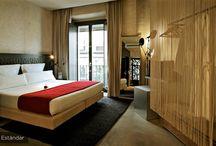 Interiors//Hotel rooms
