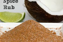 rubs,seasonings and marinades / by Chris Keith