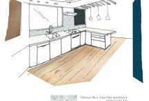39 Carlton St reno design / Actual plans for reno