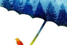 Regenschirm / by Vera Kalkbrenner