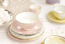 Teacups & Teapots / Teacups and teapots that will make your high tea experience just a little more glamorous!