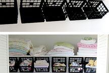 Shelves organisation
